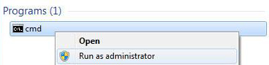 Windows 7 - Run Command Prompt as Administrator