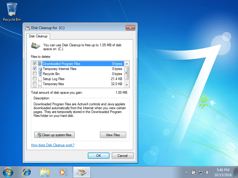 Disk Cleanup Guide For Windows Xp Vista 7 8 8 1 10