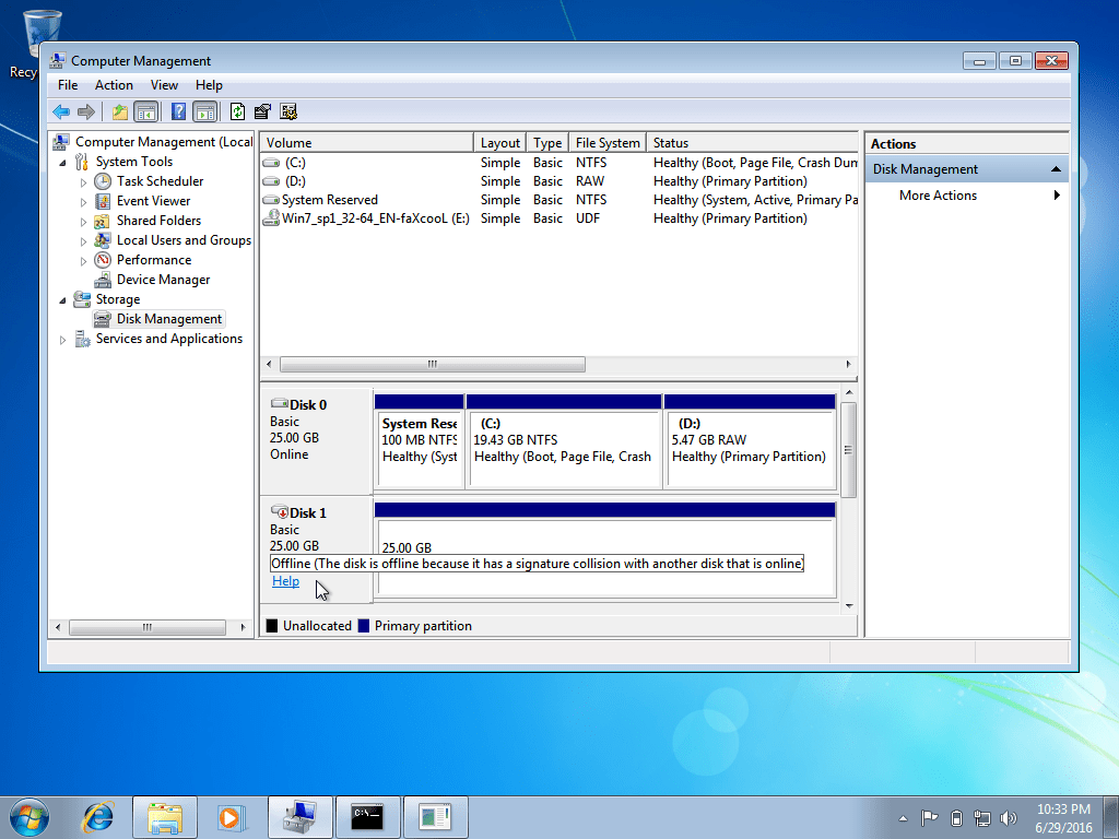 Programs for treating hard drive Wndows 7 35
