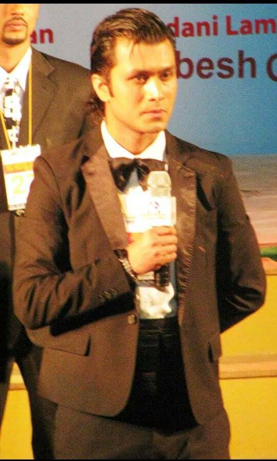 A moment from Mr. Nepal 2011