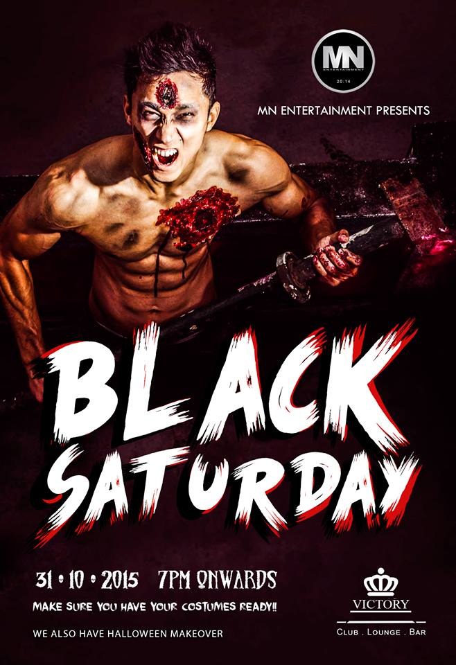 Black Saturday This Halloween Get Spooky At The Victory