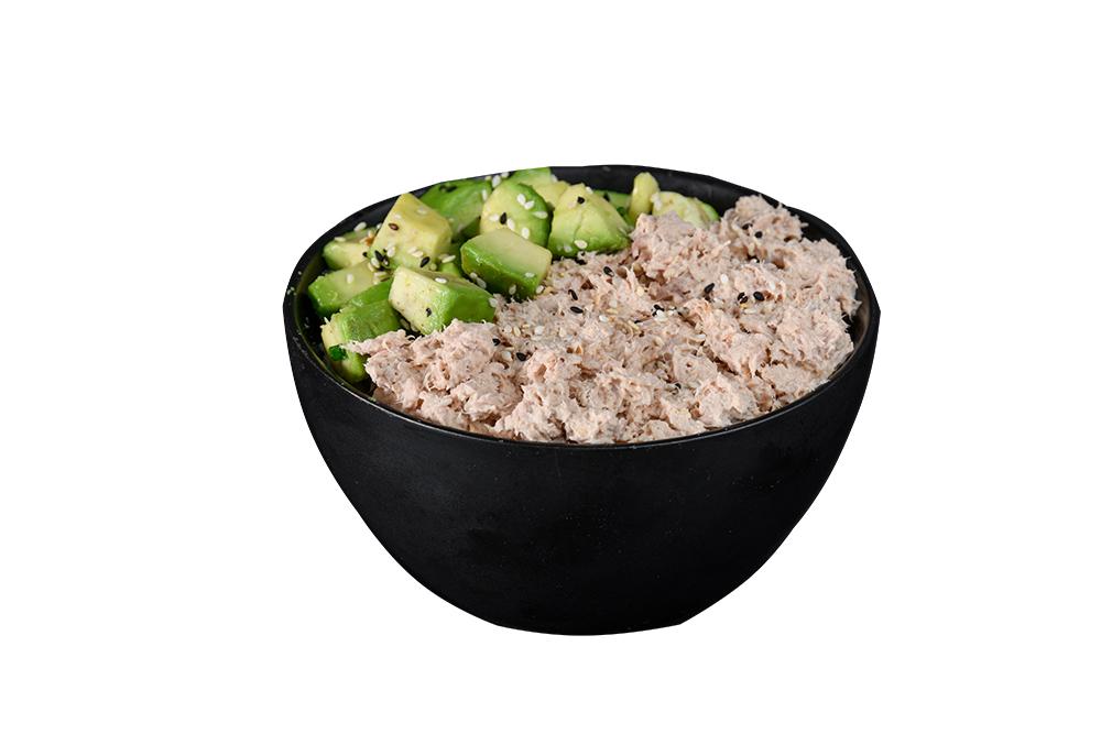 Riz tartare thon cuit