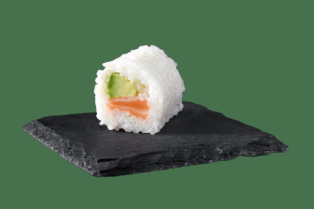 white saumon avocat