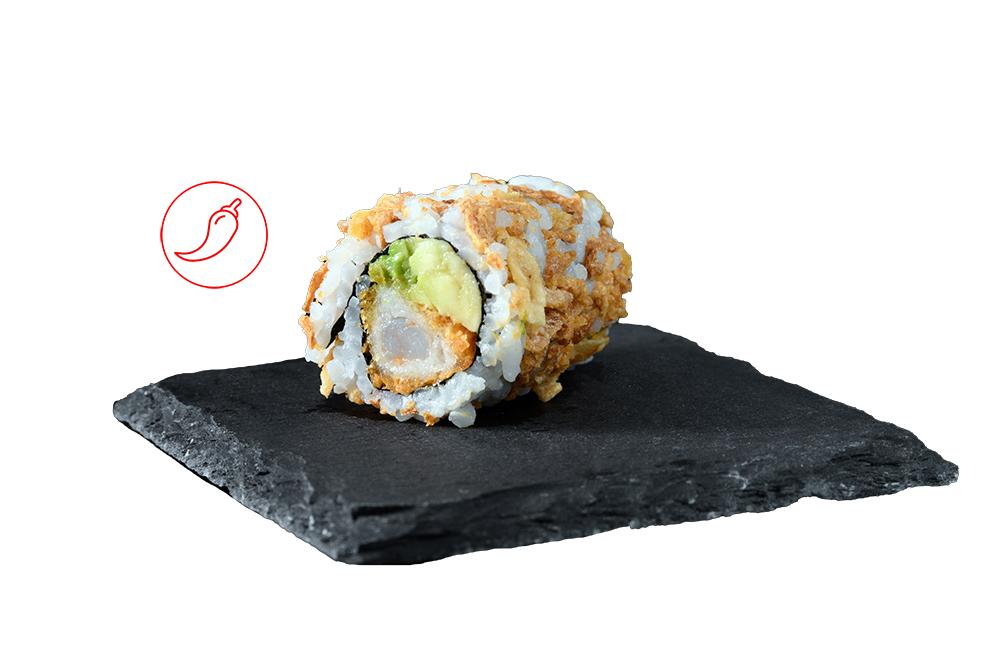 crispy roll crevette tempura