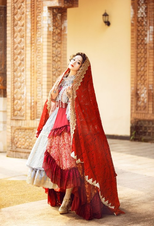 Funplus exclusive Lolita dress by incorporating Indian Sarees