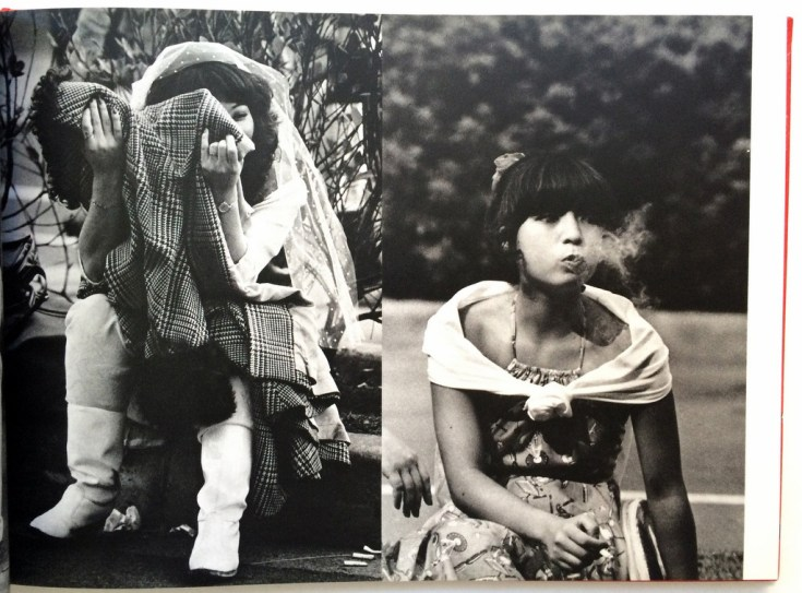 Japan in the 1960s-70s expressing themselves creatively.