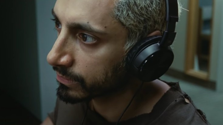 Ruben from sound of metal finding out he lost his sense of hearing
