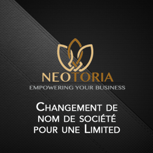 changement de nom de societe Limited Irlande