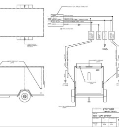 4 wire circuit 7 wire trailer to truck diagram [ 1902 x 1435 Pixel ]