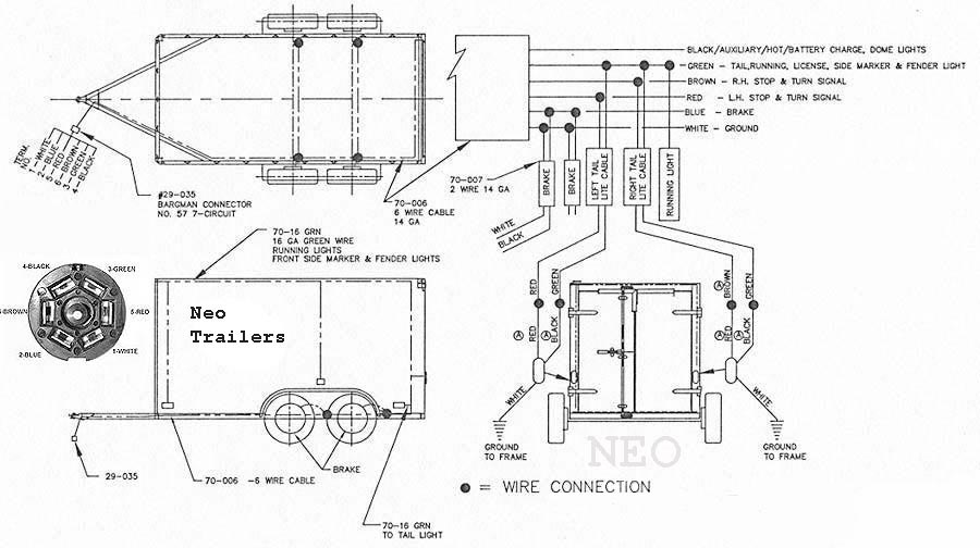 53 Foot Trailer Lights Wiring Diagram Neo Trailers Manual