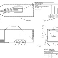Wiring Diagram For Gooseneck Trailer Upper Arm Muscles Single Axle Electric Ke Get Free