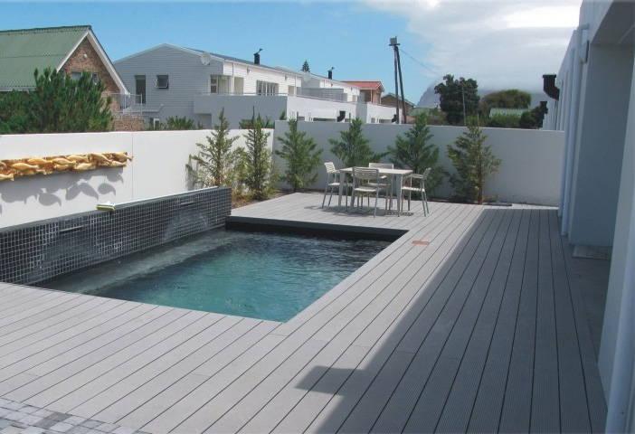 Tarima de composite para exterior neoture - Suelo terraza madera ...