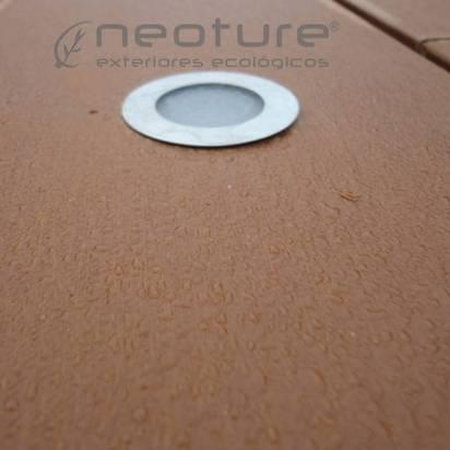 LUMINARIA. La tarima tecnologica permite una sencilla instalación de iluminación led