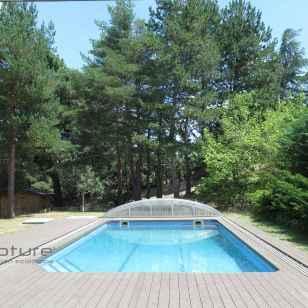 tarima exterior madera piscina