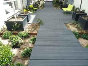 Tarima exterior terraza , sin mantenimiento.