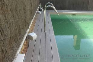 tarima exterior piscina madera tecnologica