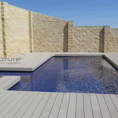 tarima exterior sintetica para piscinas