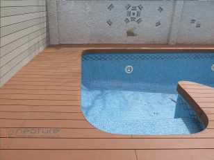 tarima madera exterior composite color wood