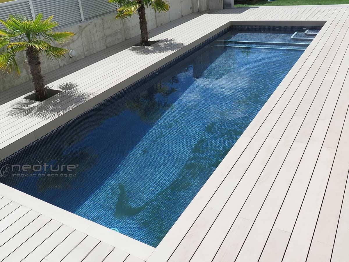 El suelo exterior tecnico conoce como diferenciar una for Tarima de madera exterior