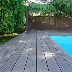 tarima para piscina de composite
