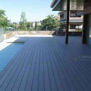tarima composite terraza