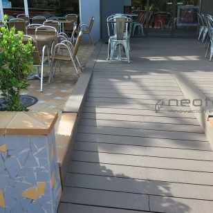 trima restaurante madrid madera sintetica