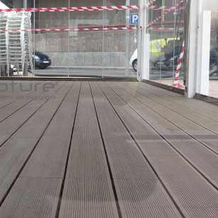 tarima terraza cerramiento restaurante