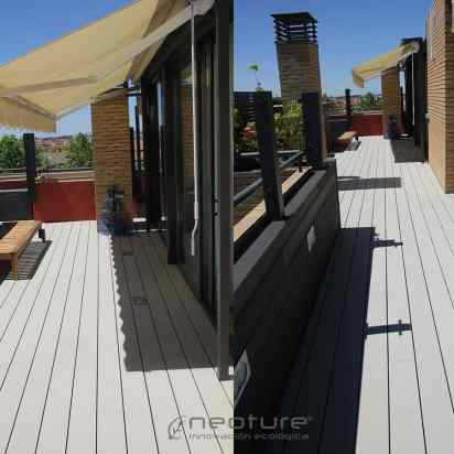 tarima sintetica exterior terraza