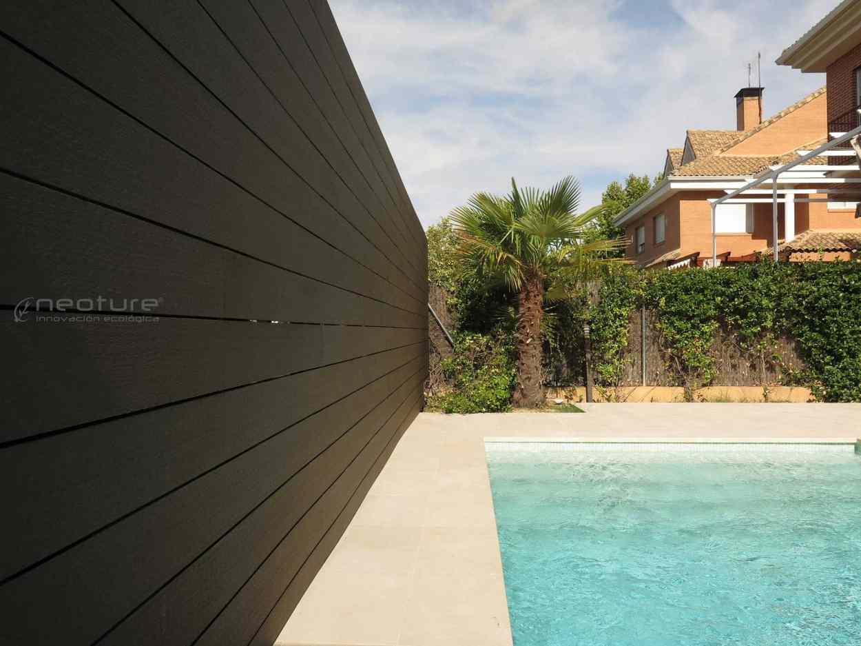 cerramiento madera composite terrazas