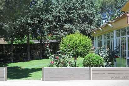cerramiento jardin madera sintetica exterior
