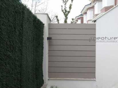 cerramiento madera sintetica exterior terraza