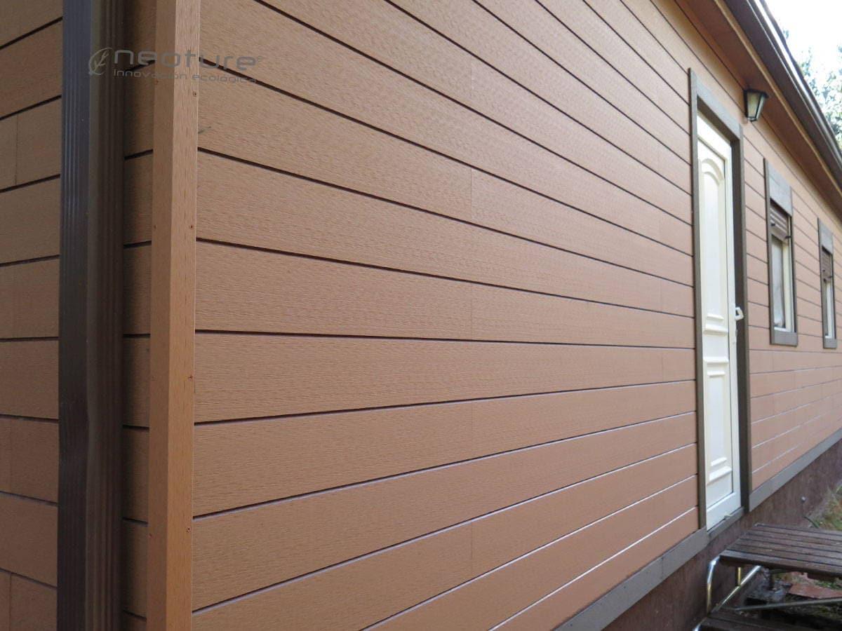 revestimiento exterior fachada madera sintetica