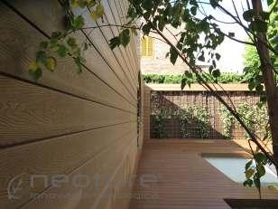 Revestimiento madera composite exterior wood veteado
