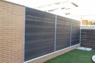 vallado cerramiento madera exterior