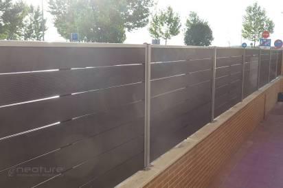 vallado madera composite exterior