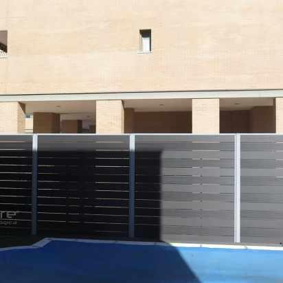 vallado madera composite piscina