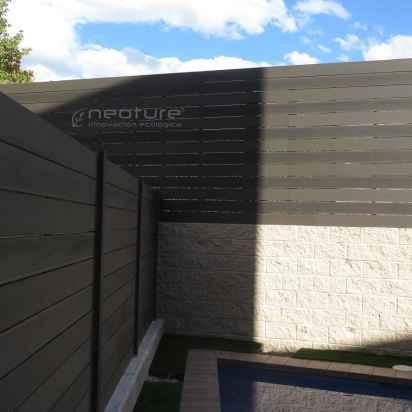 vallado madera composite