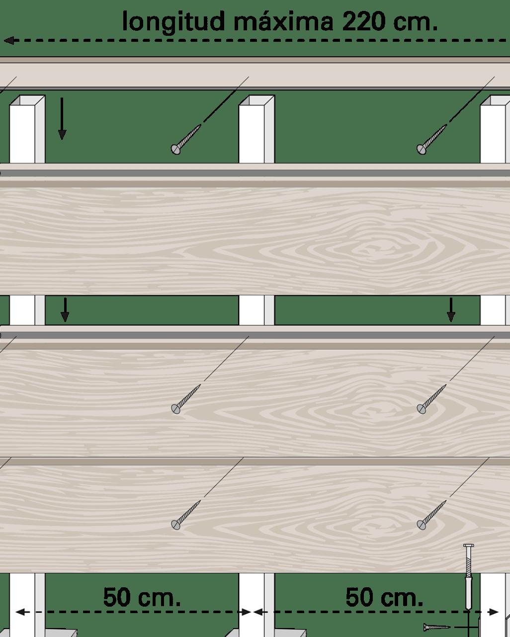 vallado madera tecnologica neolack