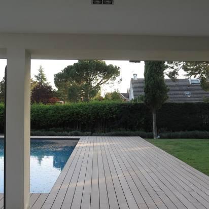 tarima composite exterior jardin