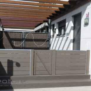 cerramiento madera exterior sin mantenimiento