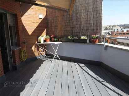 tarima composite en madera sintetica terraza