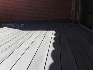 tarima madera composite capa externa color silver