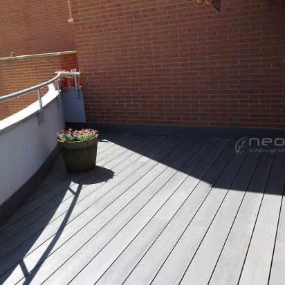 tarima terraza en madera composite exterior terraza