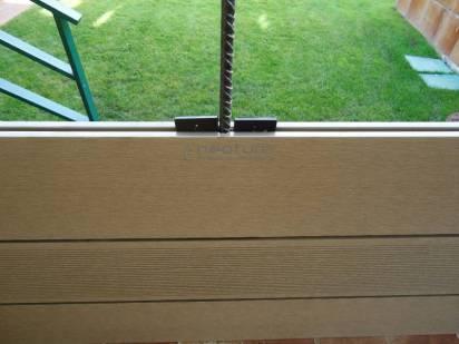 cerramiento tecnologico exterior, instalacion varilla metal interna
