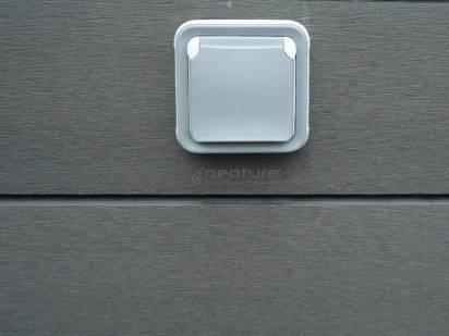 isntalacion luces para exterior en revestimiento tecnologico exterior
