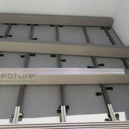 Instalación tarima sintética exterior