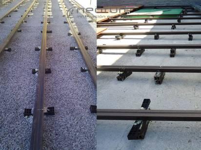 instalar suelo composite rastrelado superficie