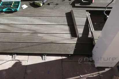 rampa instalacion tarima cerramiento terraza restaurante