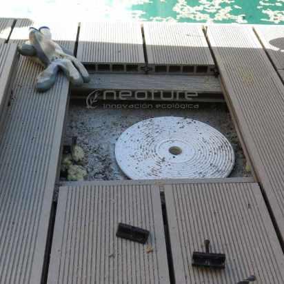 registro skimmer tarima exterior sintetica
