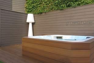 Tarima madera tecnológica revestimiento jacuzzi